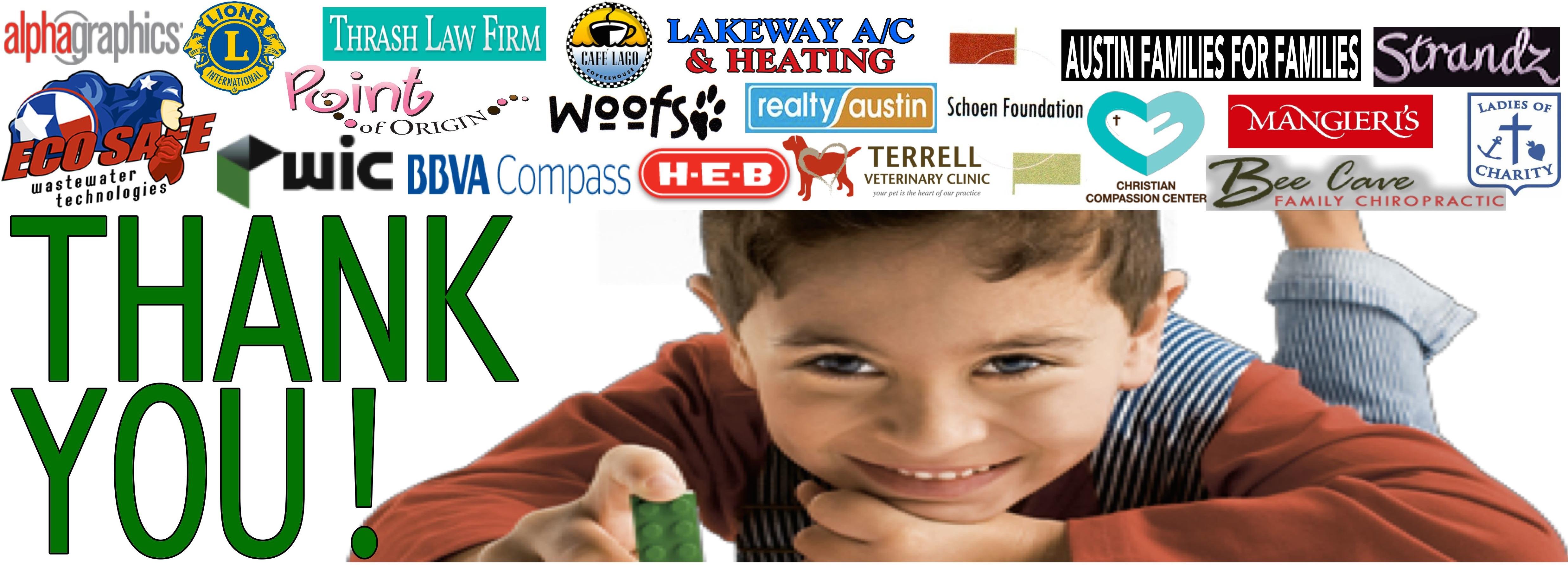 Green Santa business sponsors   banner